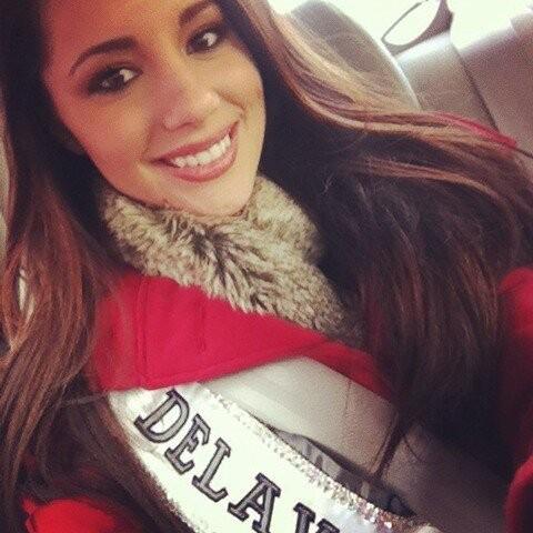 Melissa King Miss Delaware Teen USA