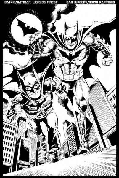 Artistas de DC Comics, hacen ilustración dedicada al Batkid   SDP ...
