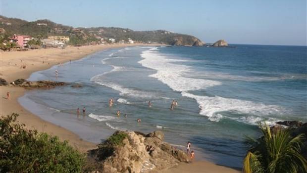 Zipolite m s que una playa con fama nudista el para so de la riviera oaxaque a sdp noticias - Fotos de hamacas en la playa ...