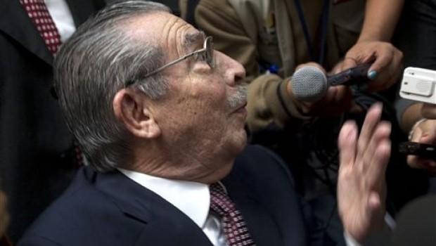 Inicia histórico juicio contra Rios Montt, ex presidente de Guatemala, por genocidio