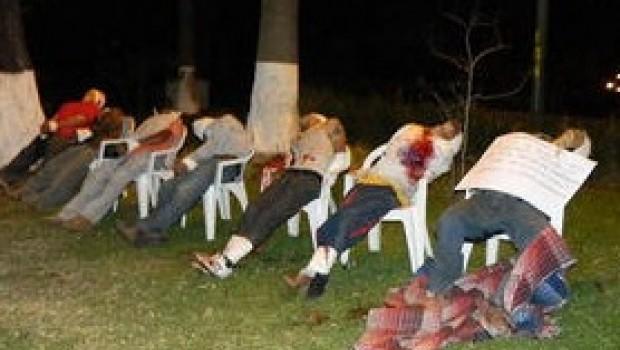 Encuentran a 7 personas ejecutadas en Uruapan, Michoacán
