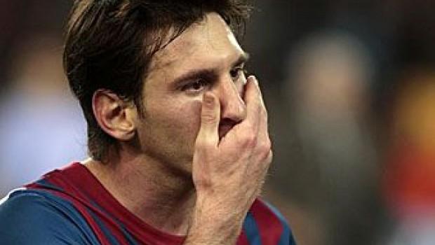 Lesión de Messi no es nada grave: FC Barcelona