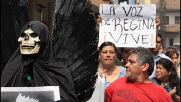 Proceso rechaza sentencia en caso Regina Martínez