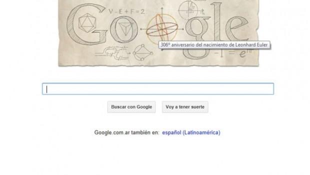 Conmemora Google 306 años del natalicio del matemático Leonhard Euler