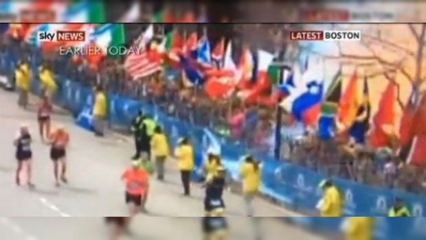 VIDEO: la explosión del Maratón de Boston