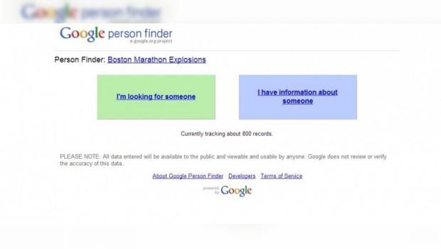 Crea Google buscador de personas tras atentado en maratón de Boston
