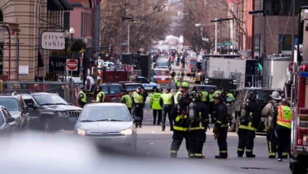 Tercera explosión del día en Boston se registra en biblioteca John F. Kennedy