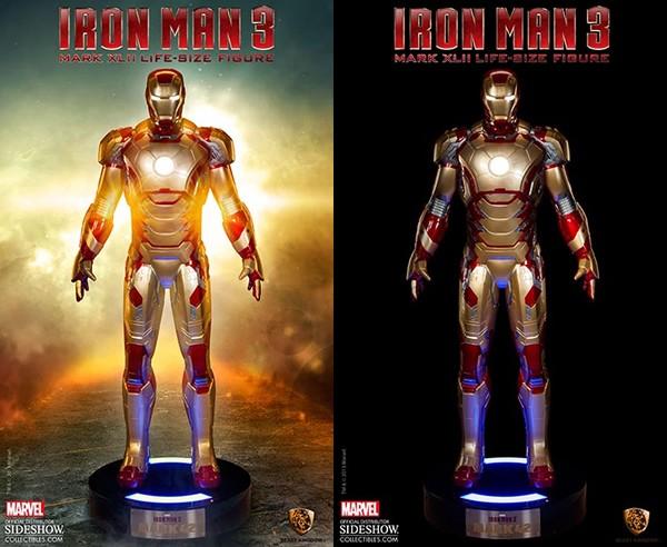 Ponen a la venta un Iron Man de tamaño real