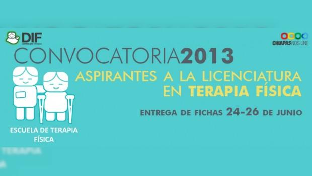 Convoca DIF-Chiapas a estudiar Licenciatura en Terapia Física