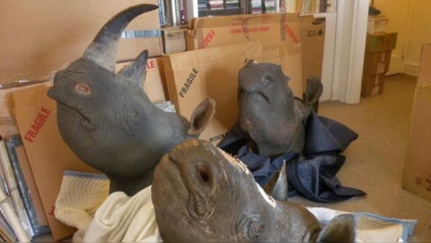 Masacran cientos de rinocerontes pues sus cuernos