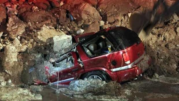 Tuitero alertó sobre deslave en la México-Querétaro