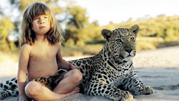 Revelan fotos de Tippi, niña que tuvo una infancia diferente