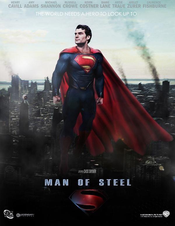 Recauda nueva película de Superman 128 mdd en estreno en EU