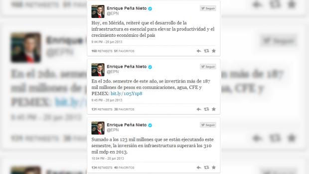 Anuncia Peña Nieto inversión mayor a 310 mdp en infraestructura durante 2013