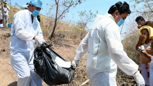 Hallan siete cabezas en bolsas de plástico en la carretera Guadalajara - Colima
