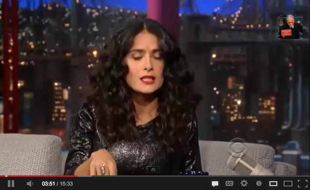 Salma Hayek califica al himno nacional mexicano de sangriento y ...