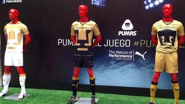 Los Pumas presentaron su nueva vestimenta