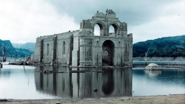 La Iglesia sumergida de Quechula, Chiapas