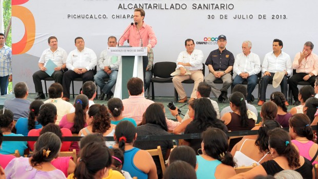 Inversión de 200 mdp en obra pública para Pichucalco, Chiapas