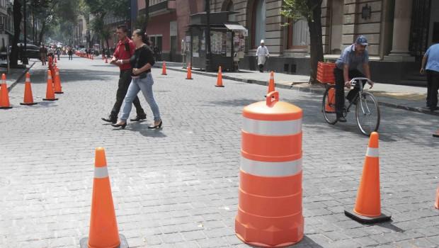 Mantendrán flujo vehicular continuo en calle 16 de Septiembre