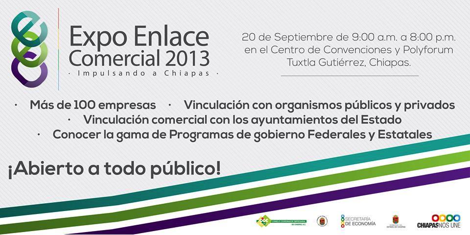 ... promueve productos regionales con la Expo Enlace Comercial 2013
