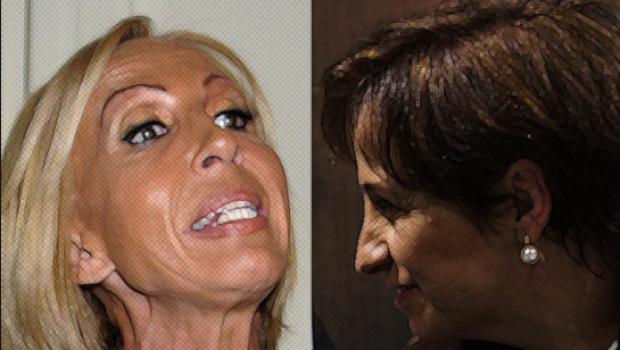 """Laura Bozzo sigue con su circo y ahora exige """"derecho de réplica"""" a Carmen Aristegui"""
