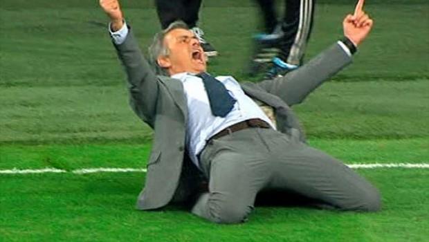 VIDEO: Mourinho y su celebración más