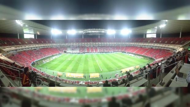 Estadio Omnilife Vacio en el Estadio Omnilife Las