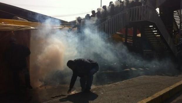 Reportan enfrentamiento en San Lázaro por Reforma Energética