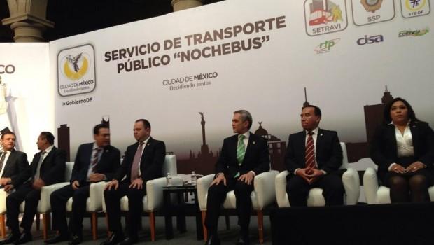 Conoce las rutas del transporte público
