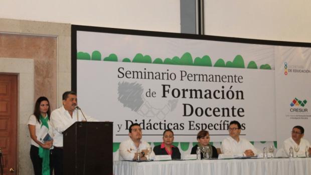 Inauguran en Chiapas Centro de Formación Docente de Alta Calidad