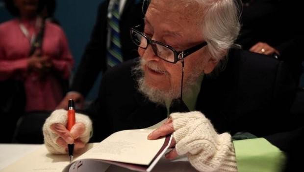 Fernando del Paso, escritor mexicano.