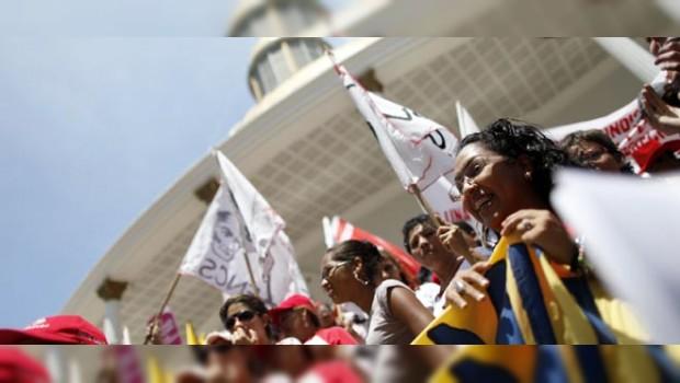 Activistas venezolanos