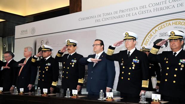 Anuncian festejos por conmemoración del centenario de la Gesta Heroica de Veracruz
