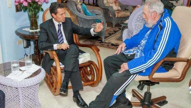 Madero, Cordero y Corral fustigan a Peña por foto con Castro