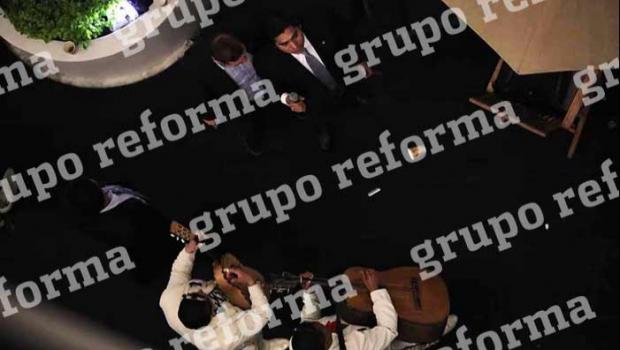 Arma panista Jorge Luis Preciado fiesta en el Senado con todo y mariachis