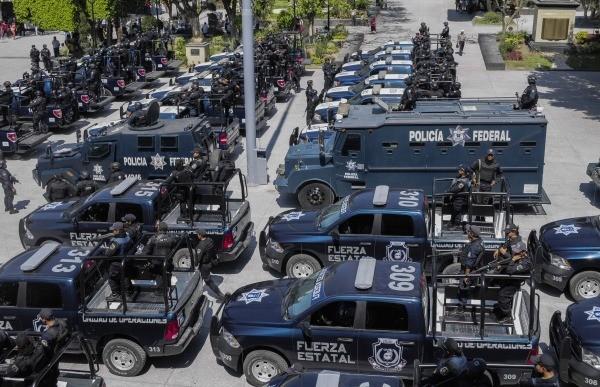Esta es la poderosa policia mexicana