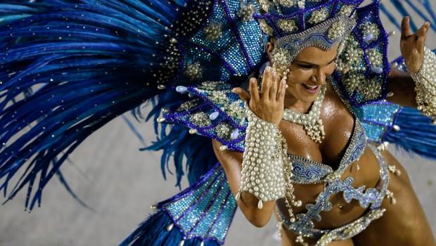 Las  10 mejores fotos del carnaval de Río 2014