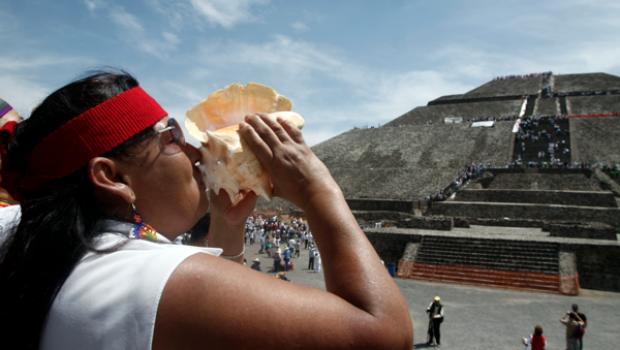 Reportan sin daños a zona arqueológica de Teotihuacán por accidente aéreo