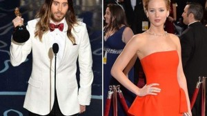 Jared Leto y Jennifer Lawrence