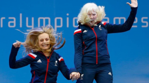 Charlotte Evans y Kelly Gallagher