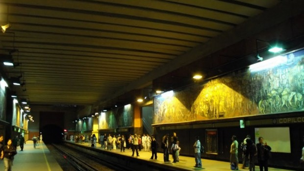 Arrollan a estudiante en la estación Copilco; investigan a 3