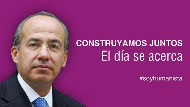"""Felipe Calderón regresa a México para """"supervisar"""" al Partido Humanista"""