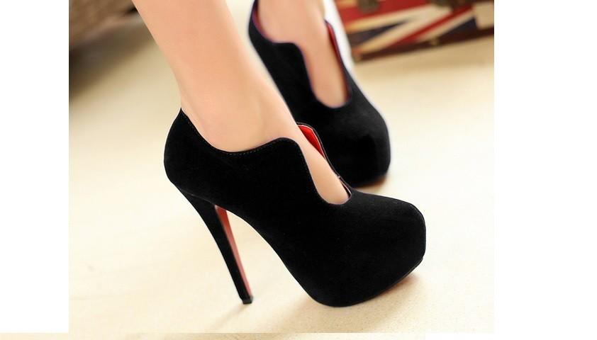 106f1cfa Con zapatos de tacón