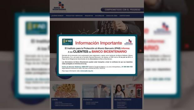 Bicentenario, primer banco liquidado en México desde la Crisis del 94