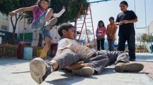 Niños peleando (foto especial)