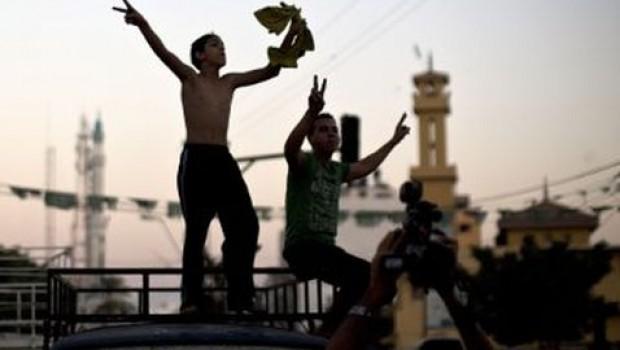 Para algunos palestinos la tregua es sinónimo de victoria sobre Israel.
