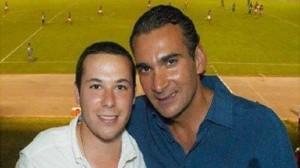 Fernando Rosales y el senador Luis Armando Melgar. Foto: Especial