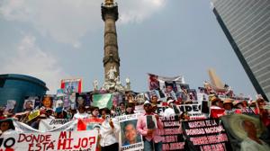 Desaparecidos. Cientos han salido a las calles a exigir localización de desaparecidos. Foto/Archivo