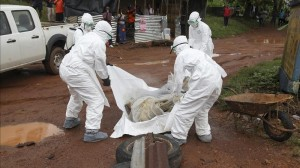 Enfermos de ébola. Emergencia. Foto/AP